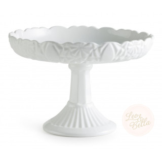 Rosanna Les Desserts Round Lipped Pedestal Compote Cake Stand
