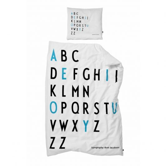 Design letters Bed Linen