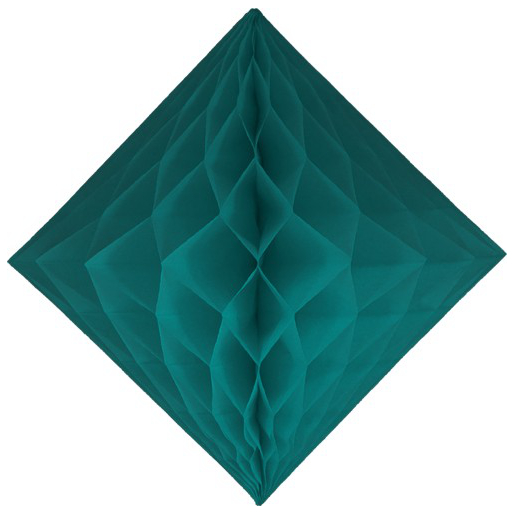 e diamond decoration teal