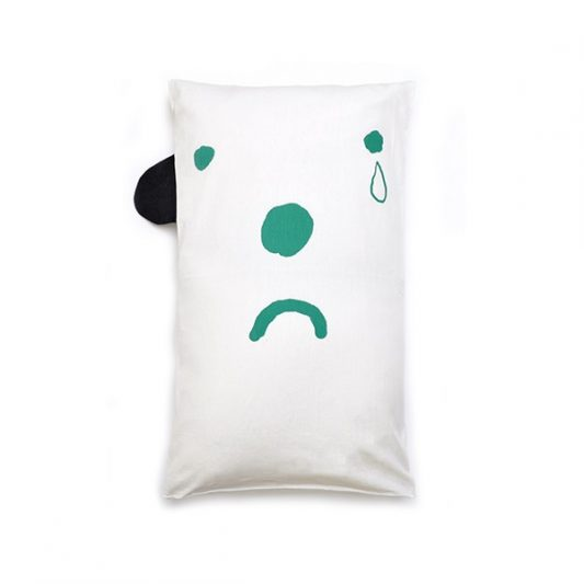 green-pillowcase-happy-sad