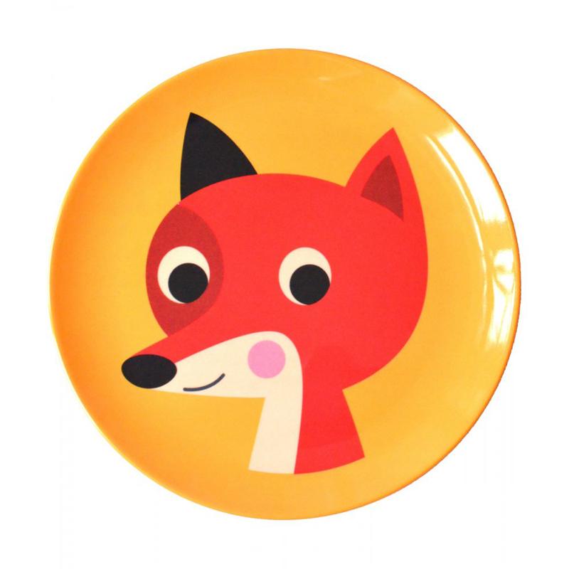 Leo Bella Omm Design Plate Fox