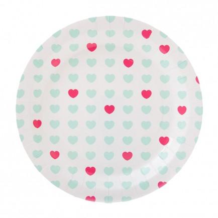 aqua-sweetheart-plate