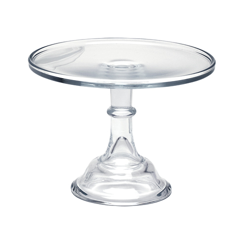 Yellow Glass Cake Stand