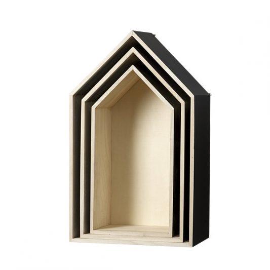 Leo & Bella Display House Storage Box - Bloomingville