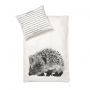 by nord hedgehog cot quilt cover baby