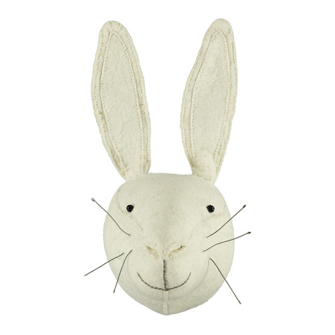 Scandi Chic White Rabbit