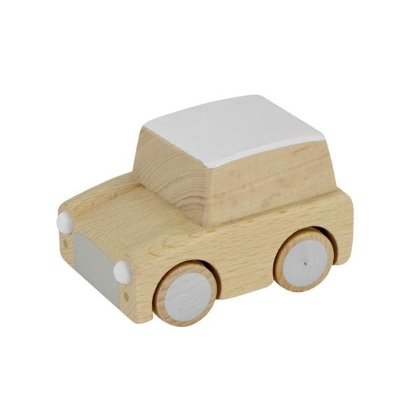 Leo Amp Bella Kiko Kuruma Wooden Toy Car Natural Beech
