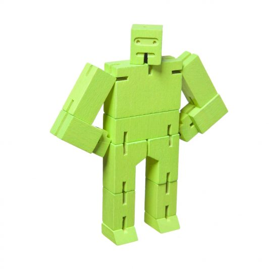 Areaware Cubebot Micro Green