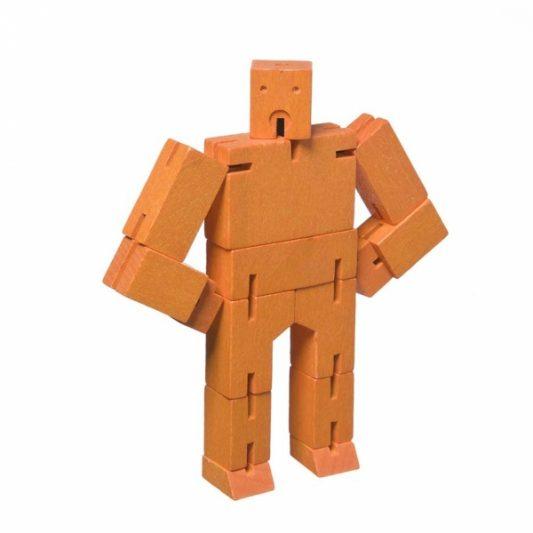 Areaware Cubebot Micro Orange
