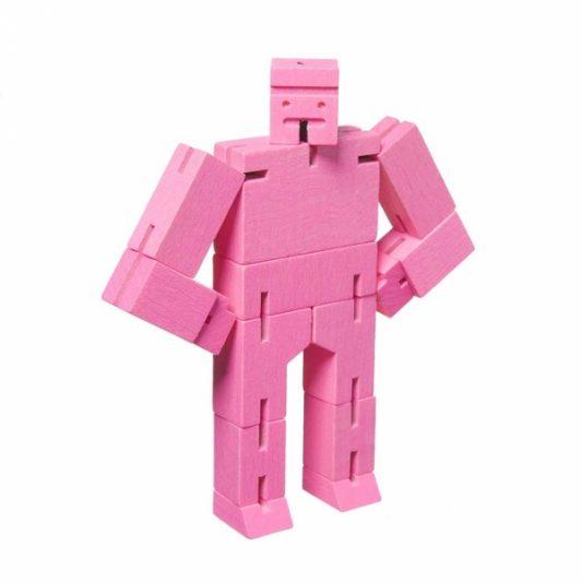 Areaware Cubebot Micro Pink