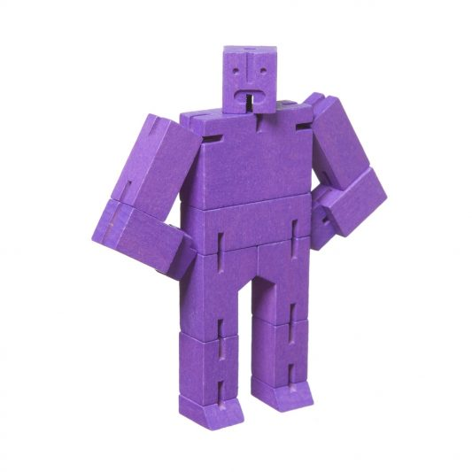 Areaware Cubebot Micro Purple