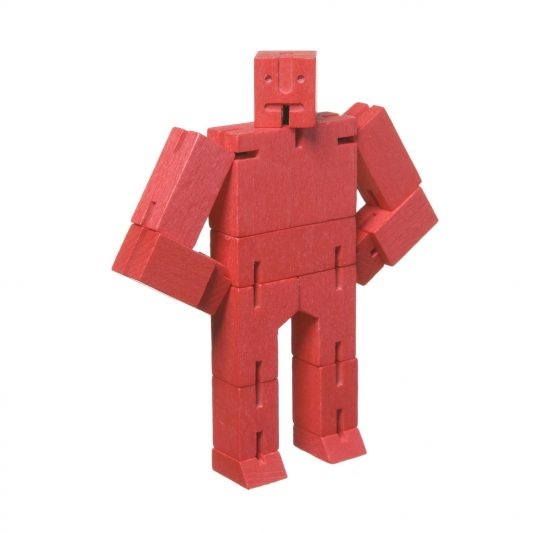 Areaware Cubebot Micro Red