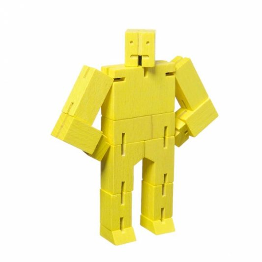 Areaware Cubebot Micro Yellow