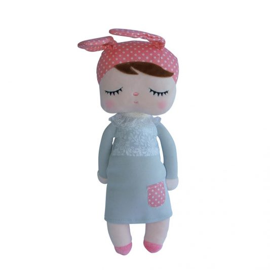 Sweet Dream Sleeper Bunny Grey Pink Ears