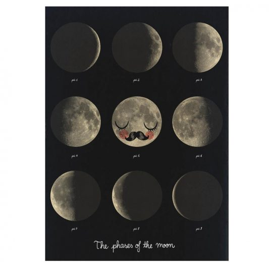 OMM DESIGN THE PHASES OF THE MOON