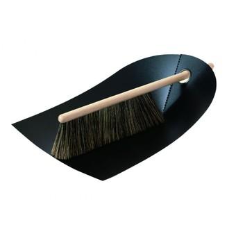 Normann Copenhagen Dustpan & Broom Black