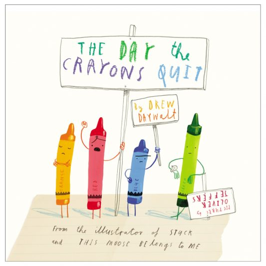 The Day the Crayon Quit Book