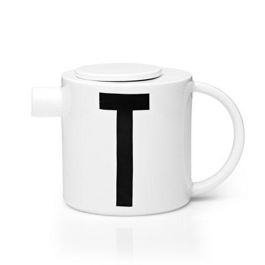 design letters teapot