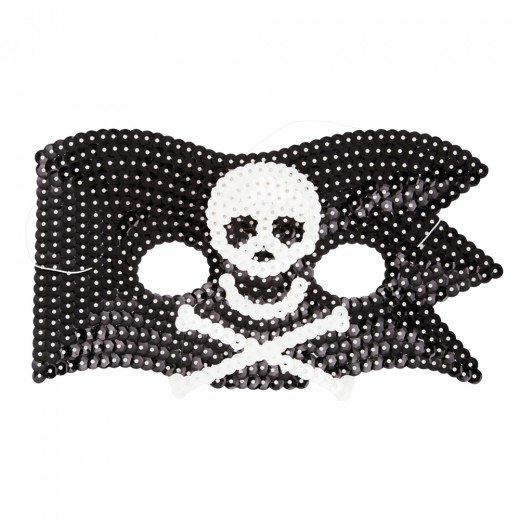 Rice DK Pirate Sequin Mask