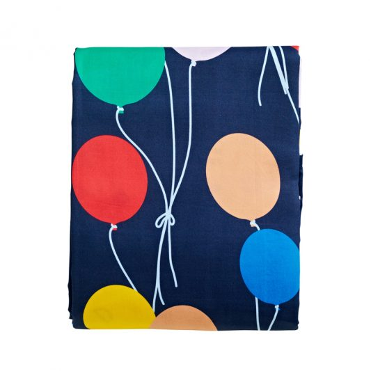 Up up and away fitted sheet