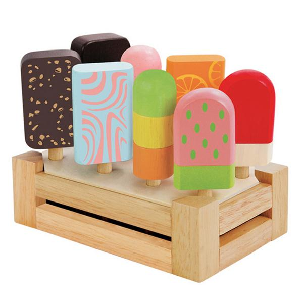 Natural Wood Toy Kitchen