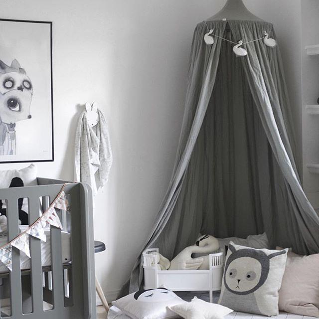 leo bella numero 74 cotton canopy silver grey. Black Bedroom Furniture Sets. Home Design Ideas