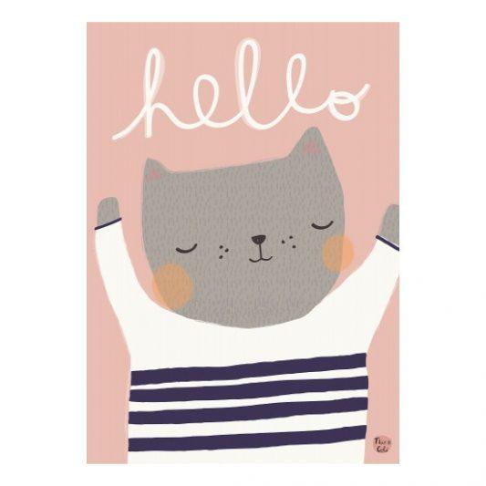 aless_baylis_poster_hello_cat