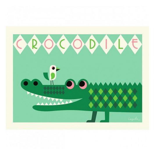 ingela-arrhenius-crocodile-poster-by-omm-design