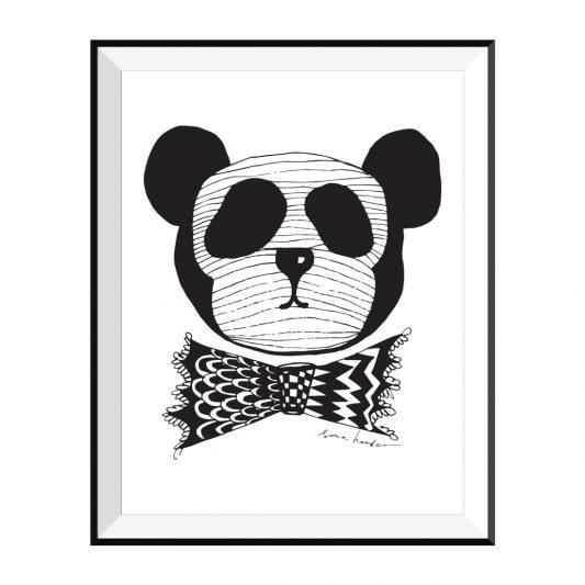 Maiko Mini Panda Dude Print