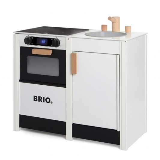 leo bella brio wooden kitchen stove sink combo white. Black Bedroom Furniture Sets. Home Design Ideas