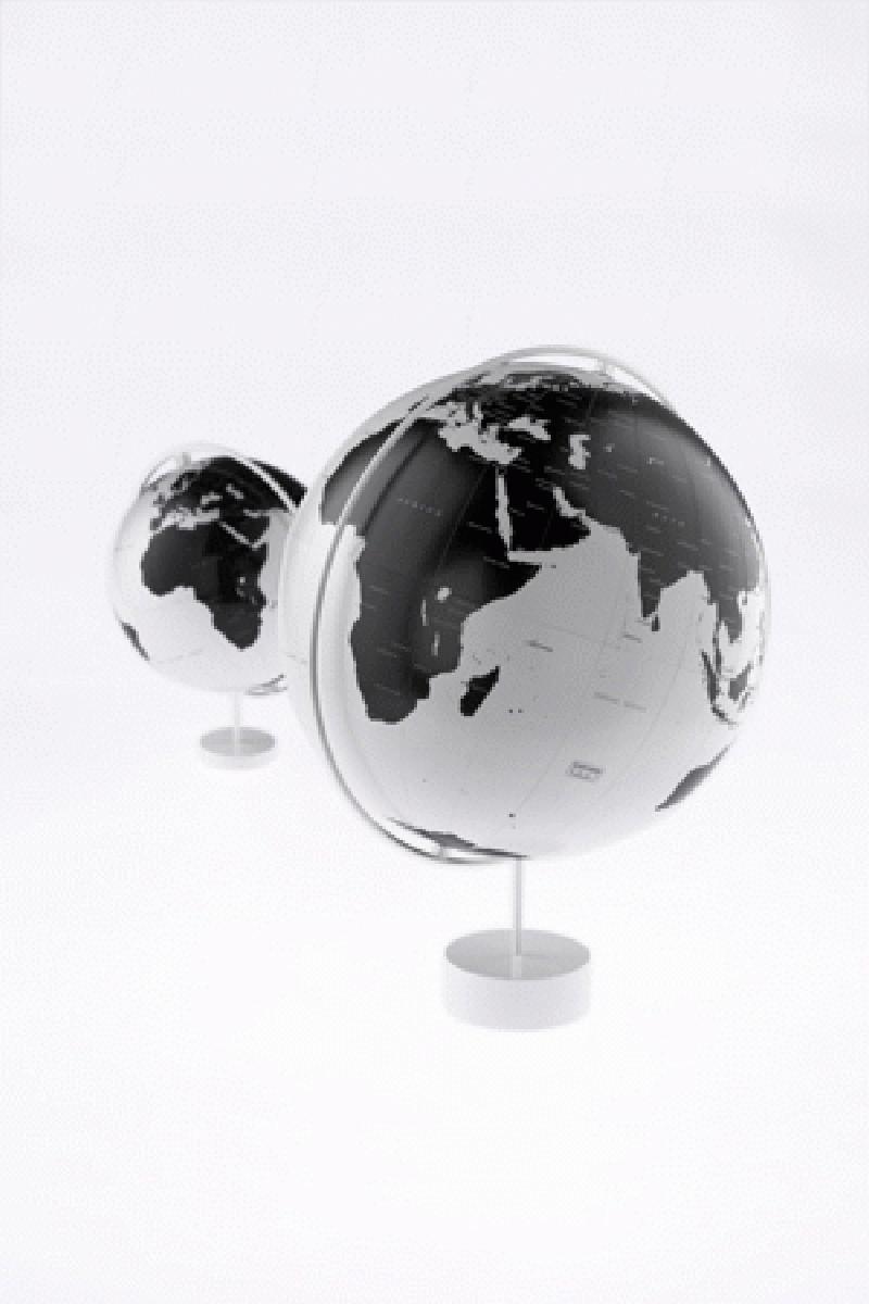 Leo Amp Bella Nendo Corona Globe Monochrome Large