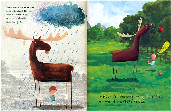 Leo Amp Bella This Moose Belongs To Me By Oliver Jeffers