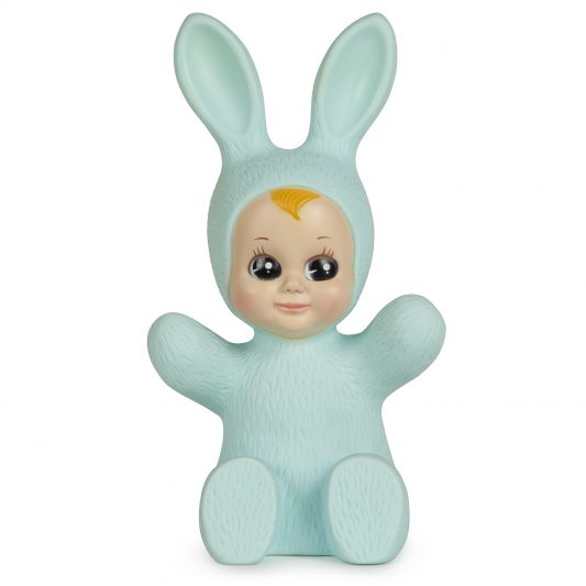 Goodnight Light Baby Lapin Bunny Pastel Blue