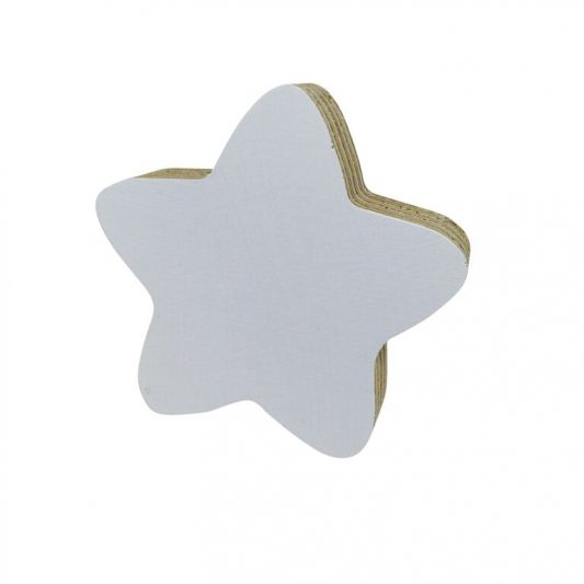 Knobbly - Star White Hook