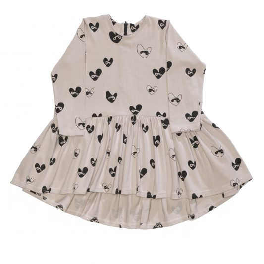 Oversize Dress, Dove Grey, Bandit Lovehearts