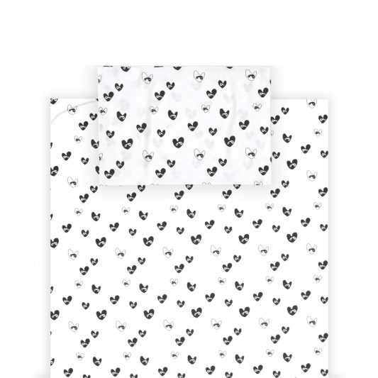 Single Bedding Set Bandit Lovehearts