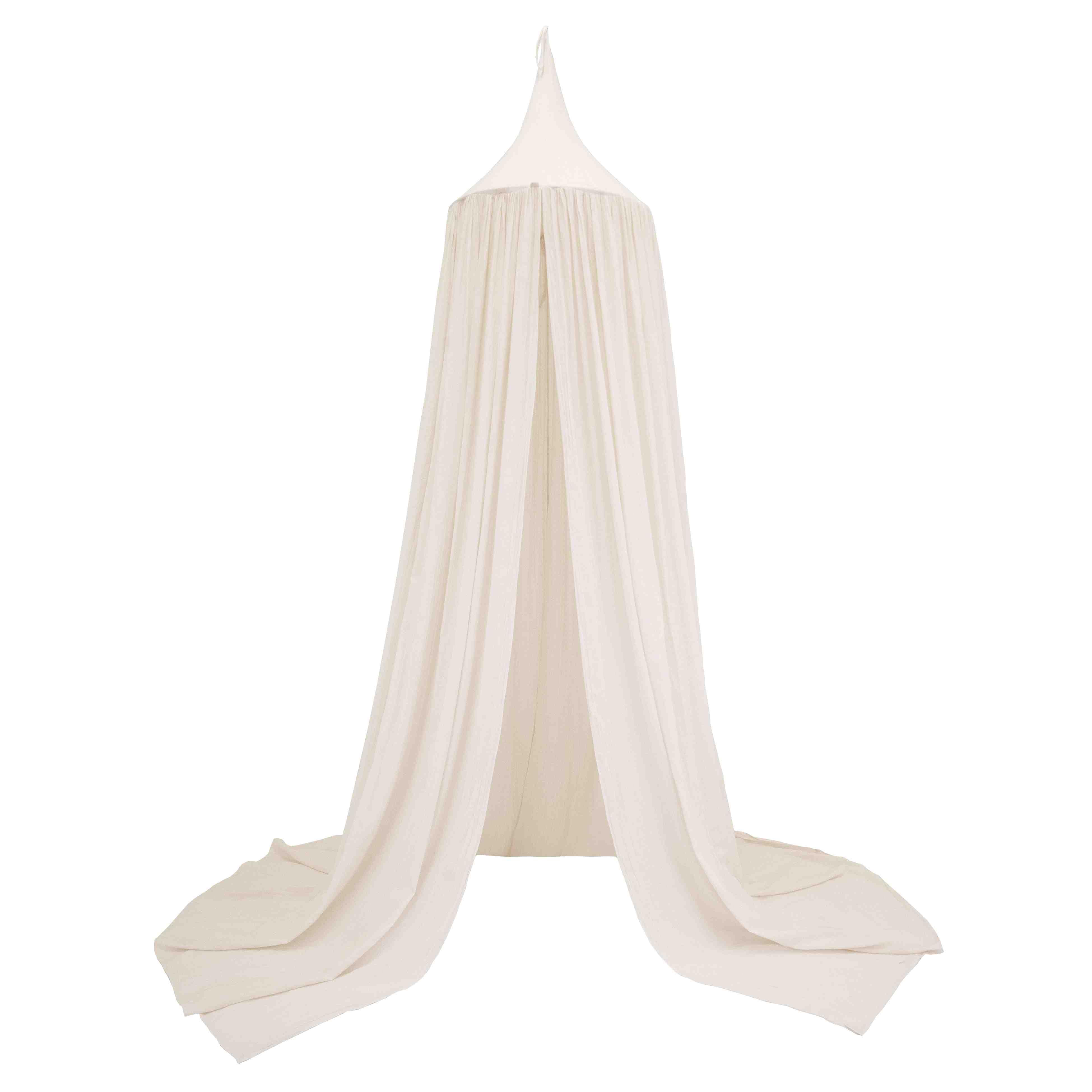 leo bella numero 74 cotton canopy natural. Black Bedroom Furniture Sets. Home Design Ideas