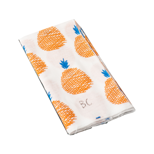 bobo-choses-tenugui-hand-towel-bobo-choses-tenugui-hand-towel-pineapple