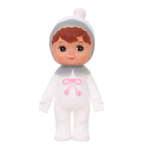 Lapin and Me Snow Baby Grey pink