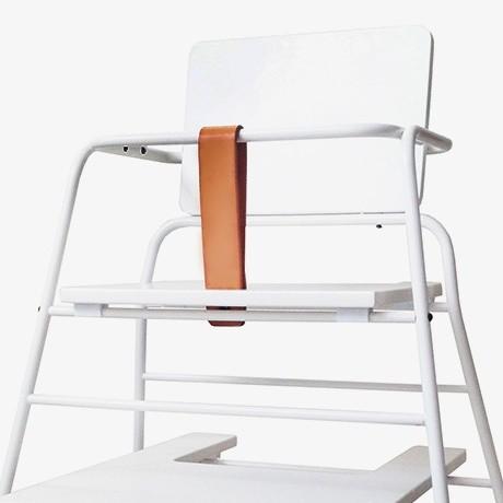 Leo Amp Bella Bzbx Budtzbendix Tower High Chair White And