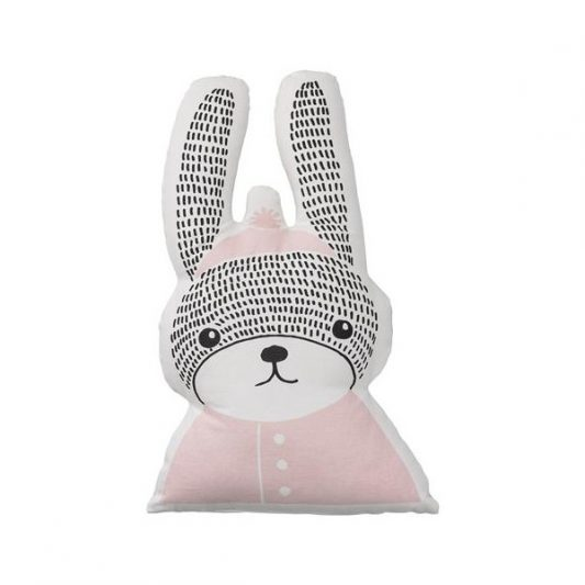 cushion-rabbit-nude-white-color-