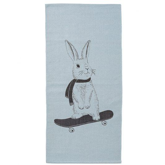 95500012 - rug bloomingville mini rabbit skate blue