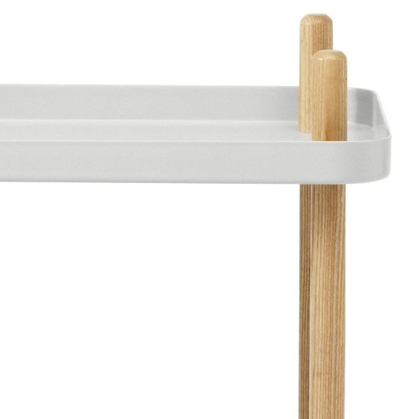 leo bella normann copenhagen block table light grey. Black Bedroom Furniture Sets. Home Design Ideas