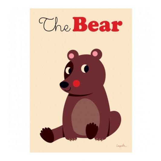 ingela-arrhenius-the-bear-poster-by-omm-design