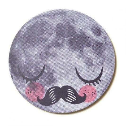 leo bella omm design moon trivet. Black Bedroom Furniture Sets. Home Design Ideas