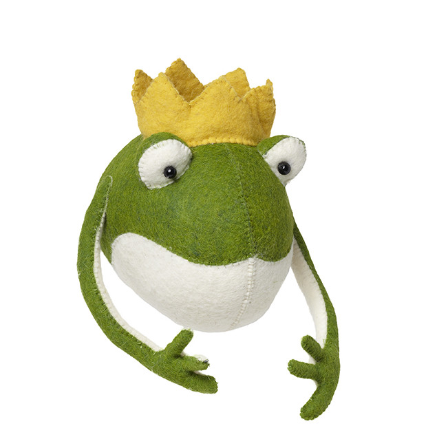frog prince head wall decor 876110 - Animal Head Wall Decor