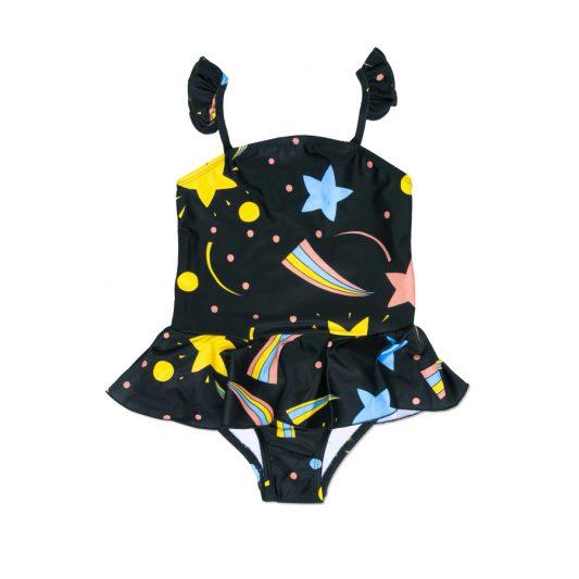 1616015199 1 mini rodini space skirt swimsuit black