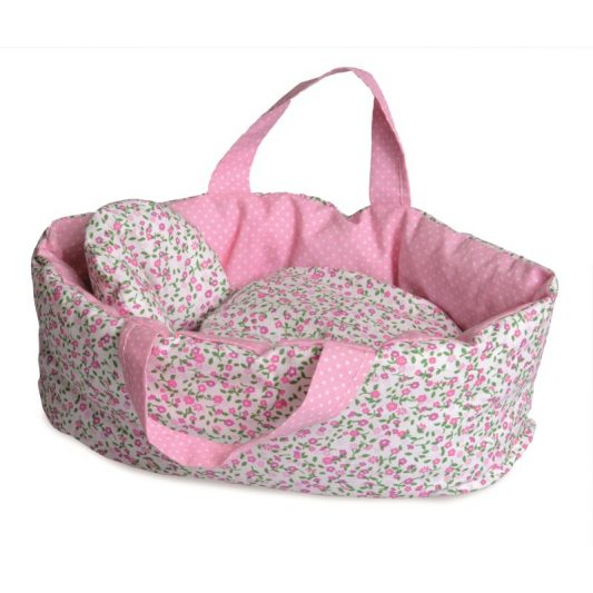 Egmont Soft Flower Carry Cot