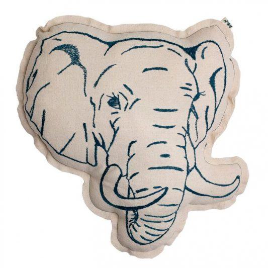 n74 cushion elephant
