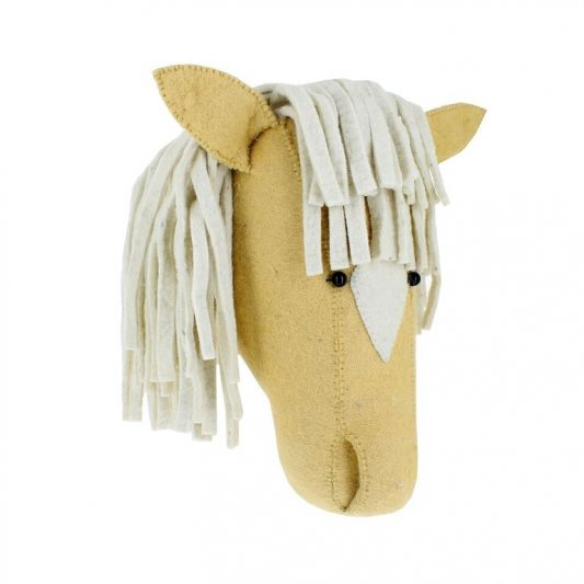 Fiona Walker Palomino Horse Head 1